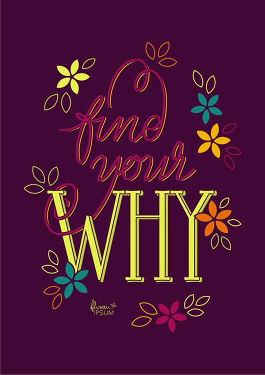 Find Your Why purple - Natalia Stolarska