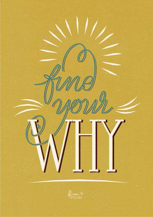 Find Your Why yellow - Natalia Stolarska