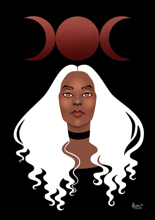 Triple Goddess BLACK - Natalia Stolarska